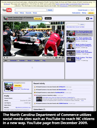 screenshot of archived web page
